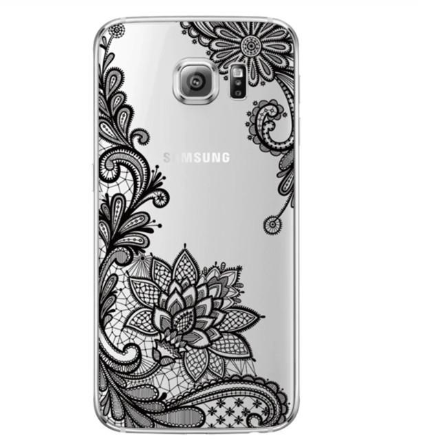 Силиконовый чехол с рисунком для Samsung Galaxy S9