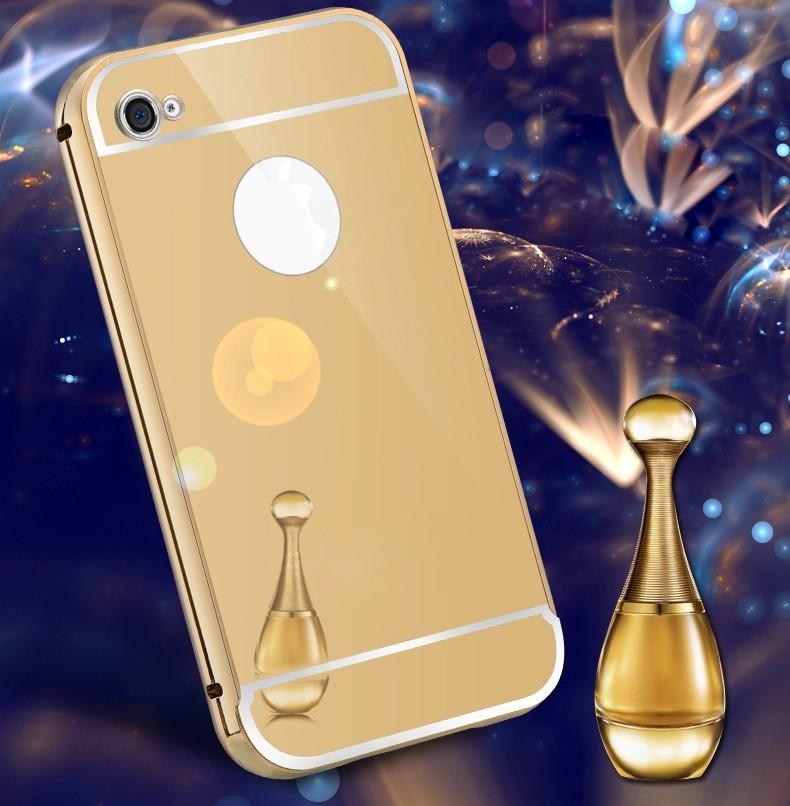 Алюминиевый чехол бампер для IPHONE 4/4S