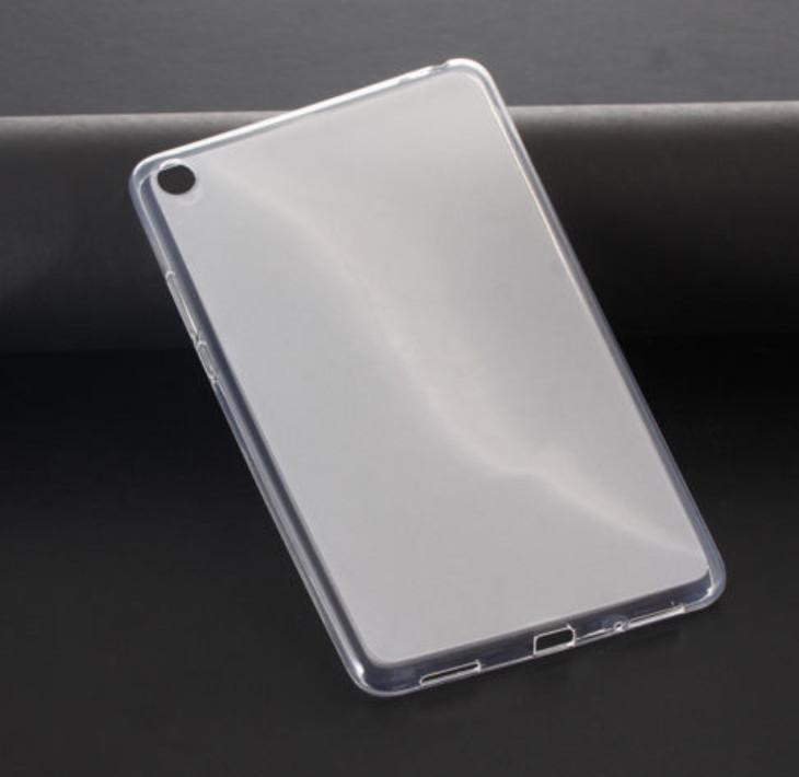 Силиконовый  полупрозрачный чехол для Xiaomi Mi Pad 4