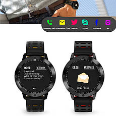 Розумні годинник SENBONO CF58 Black фітнес браслет, фото 3