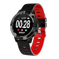 Умные часы SENBONO CF58 Red фитнес браслет