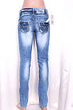 Женские джинсы с декором, фото 2