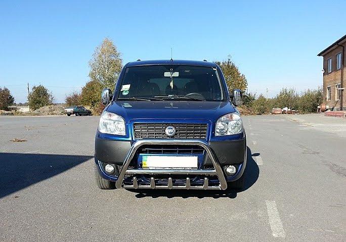 Защита переднего бампера (кенгурятник) Fiat Doblo 2000-2010