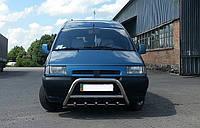Защита переднего бампера (кенгурятник) Fiat Scudo 1995-2007