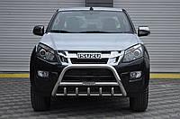 Защита переднего бампера (кенгурятник) Isuzu D-Max 2012+