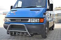 Защита переднего бампера (кенгурятник) Iveco Daily 1998-2007+