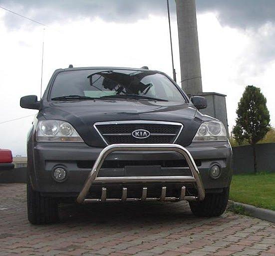 Защита переднего бампера (кенгурятник) Kia Sorento 2002-2009
