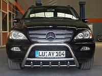 Защита переднего бампера (кенгурятник) Mercedes W163 ML 1998-2005