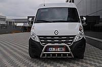 Защита переднего бампера (кенгурятник) Opel Movano 2010+