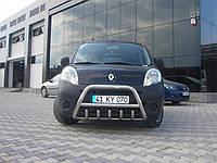 Защита переднего бампера (кенгурятник) Renault Kango 2008+