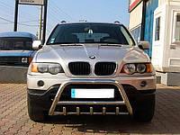 Защита переднего бампера (кенгурятник) BMW X5 E53 (2000-2007)
