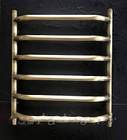 Бронзовый полотенцесушитель 600*600 Ольха 06П АЗОЦМ, фото 1