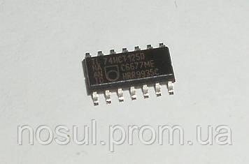 Логическая микросхема 74HCT125D Philips SOIC14 - радиокомпонент, который широко используется в элек