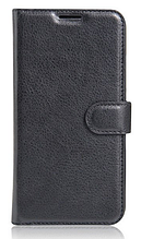 Кожаный чехол-книжка для Samsung Galaxy A5 A500 черный