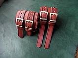 Кожаные  браслеты с надписью, фото 5