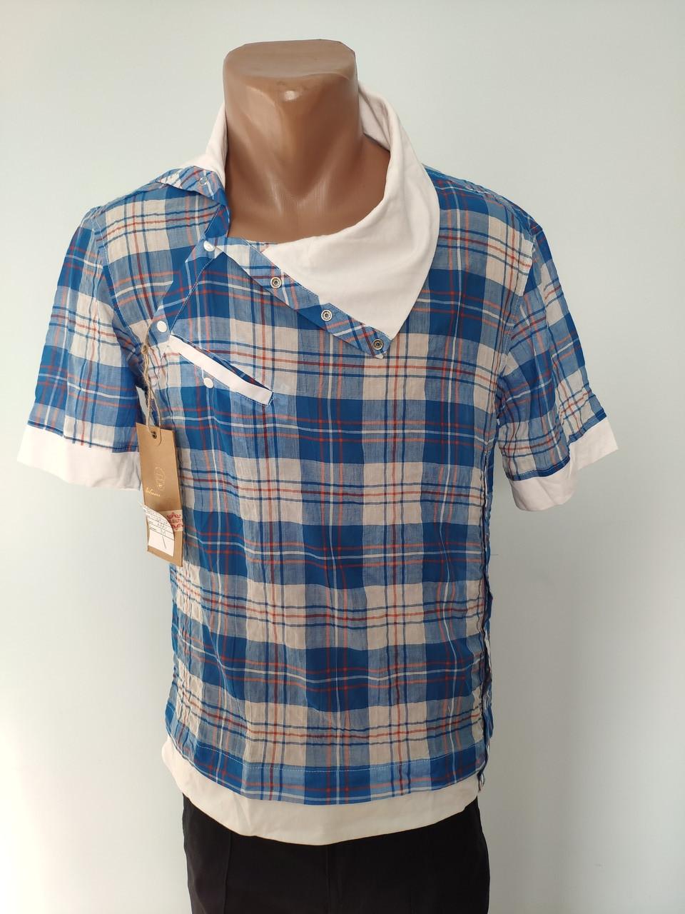 Рубашка мужская летняя коттоновая брендовая высокого качества WEAWER, Турция