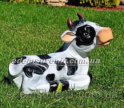 Садовая фигура Корова Буренка и Зорька большая, фото 2
