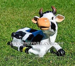 Садовая фигура Корова Буренка и Зорька большая, фото 3