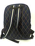 Джинсовый рюкзак Сказочный кот, фото 3