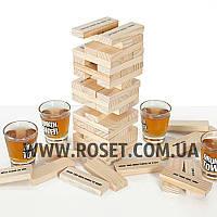 "Настольная игра ""Пьяная башня Джанга"" - Drunken Tower (60 pcs)"