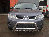 Защита переднего бампера (кенгурятник) Mitsubishi Outlander XL 2006-2010