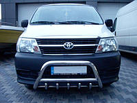 Защита переднего бампера (кенгурятник) Тойота Hiace 2007+