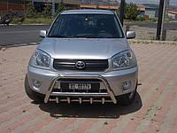 Защита переднего бампера (кенгурятник) Toyota Rav-4 2000-2006
