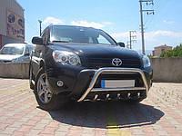 Защита переднего бампера (кенгурятник) Toyota Rav-4 2006+