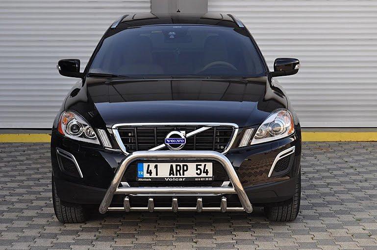 Защита переднего бампера (кенгурятник) Volvo XC-60 2009+