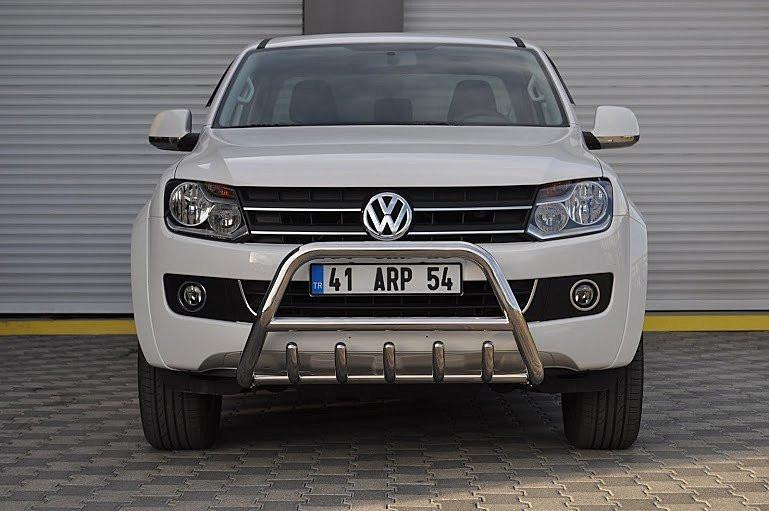 Защита переднего бампера (кенгурятник) Volkswagen Amarok 2010+