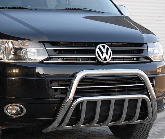 Защита переднего бампера (кенгурятник) Volkswagen T5 2003-