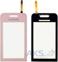 Сенсор (тачскрин) для Samsung Star S5230 Original Pink
