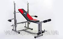 Скамья атлетическая+ стойка для штанги BH1134