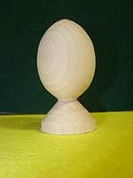 Яйце  дерев'яне на підставці 9  см