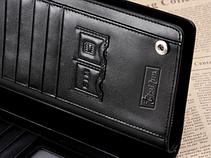 Кожаный мужской клатч портмоне Curewe Kerien коричневый, фото 3