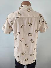 Рубашка мужская летняя коттоновая брендовая высокого качества WEAWER, Турция, фото 2