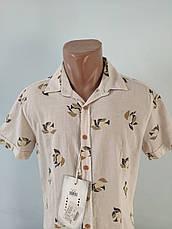 Рубашка мужская летняя коттоновая брендовая высокого качества WEAWER, Турция, фото 3