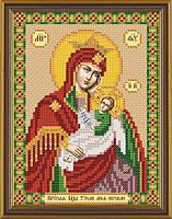 Схема для вышивки бисером Богородица Утоли моя печали  БИС 5005