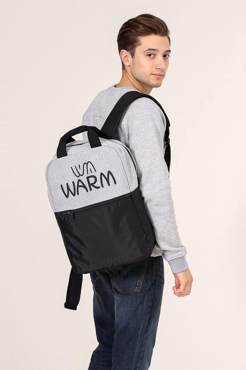 Комбинированный рюкзак унисекс WARM