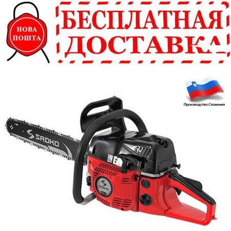 Бензопила Sadko GCS 560 E + шина и цепь 20+18