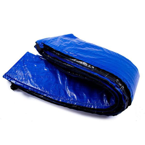 Защита на пружины для батута 8ft синяя (диаметр  244 см)