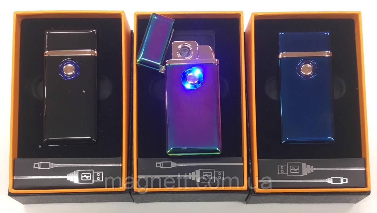 Зажигалка USB Электроимпульсная в подарочной коробке