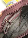 Сумка Майкл Корс Jet Set Travel шкіра, колір пудра, фото 9