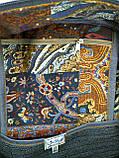 Джинсовый рюкзак котопечворк, фото 4