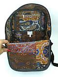 Джинсовый рюкзак котопечворк, фото 5