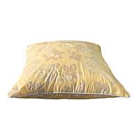 Подушка 60/60 см, downfill ( искусственный лебяжий пух ) , ткань тик