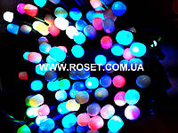Новогодняя гирлянда 50 ламп multi 5 метров, фото 1