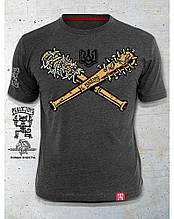 PEKLO.TOYS футболка Бейсбол Melange Grey