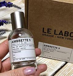 Духи Тестер Оригинал  Le Labo Ambrette 9 Eau De Parfum 50 ml.