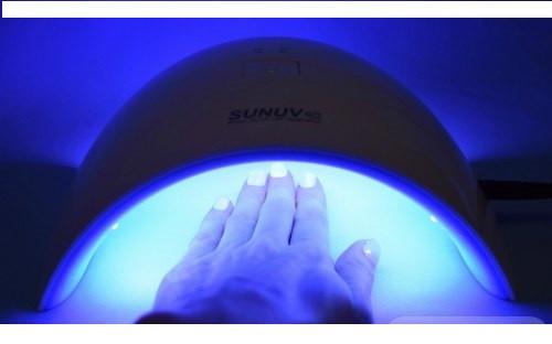 UV-LED лампа SUNUV  9c  PLUS,  36 Ватт, таймер, датчик движения, сушка 5 пальцев